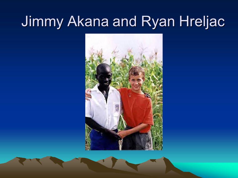 Jimmy Akana and Ryan Hreljac
