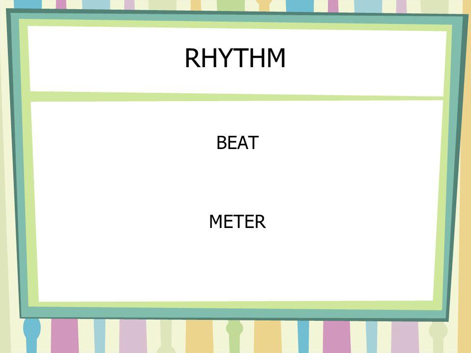 RHYTHM BEAT METER