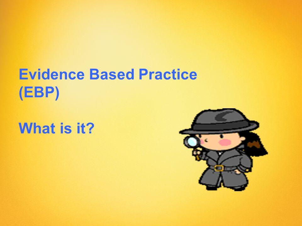 Background to Evidence- based Medicine (EBM) Archie Cochrane (1909 - 1988) –The Cochrane Collaboration David Sackett (1914-) –Definition of EBM, Father of EBM