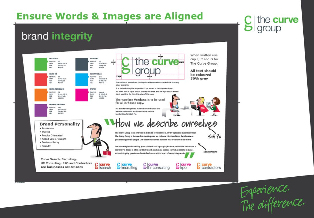 Ensure Words & Images are Aligned