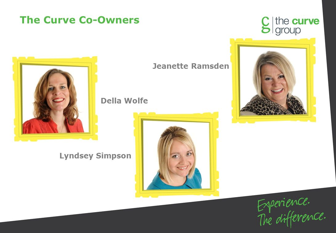 Jeanette Ramsden Della Wolfe Lyndsey Simpson The Curve Co-Owners