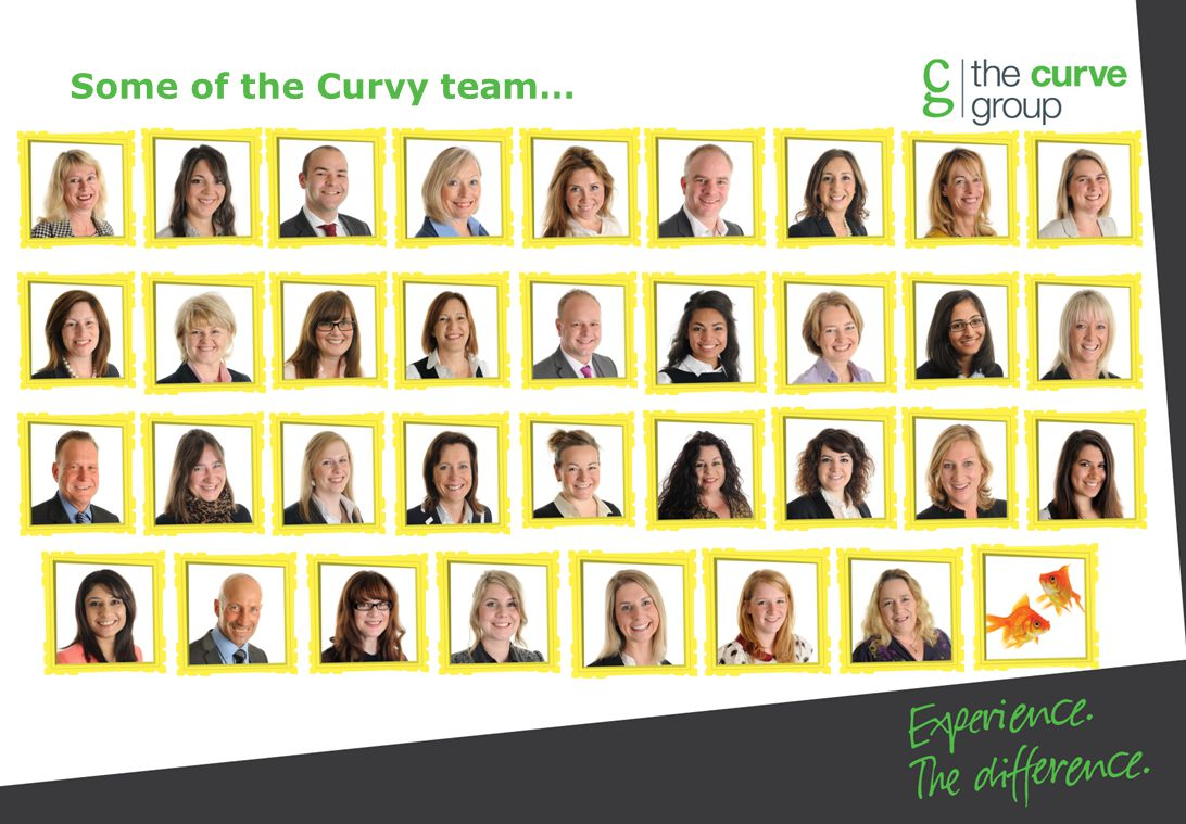 Some of the Curvy team…