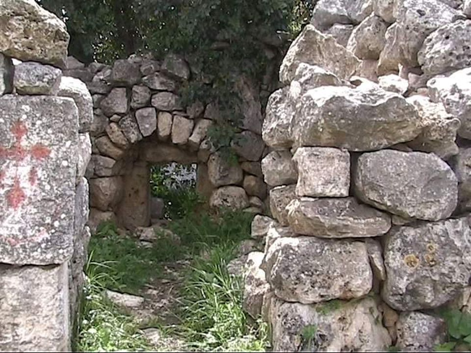 On a hillside facing Aboud are extensive 4 th -7 th 4 th -7 th Century remains of St. Barbara's Monastery