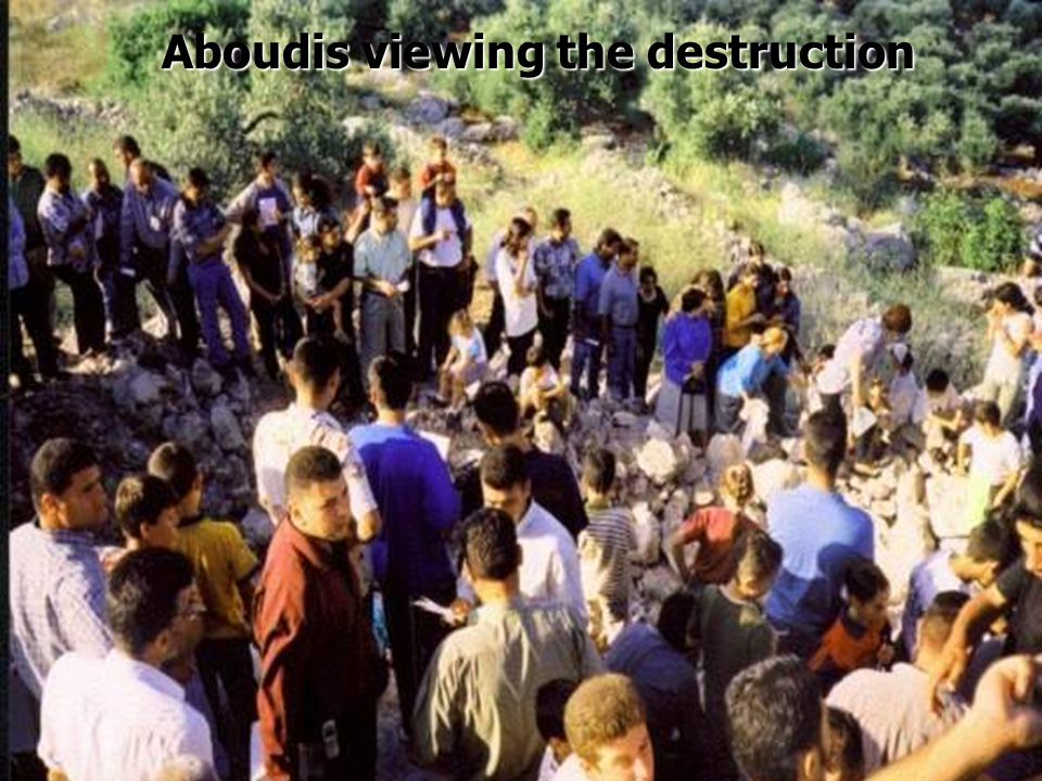 On 31 st May 2002 the Israeli Army blew up the ancient Church of St. Barbara