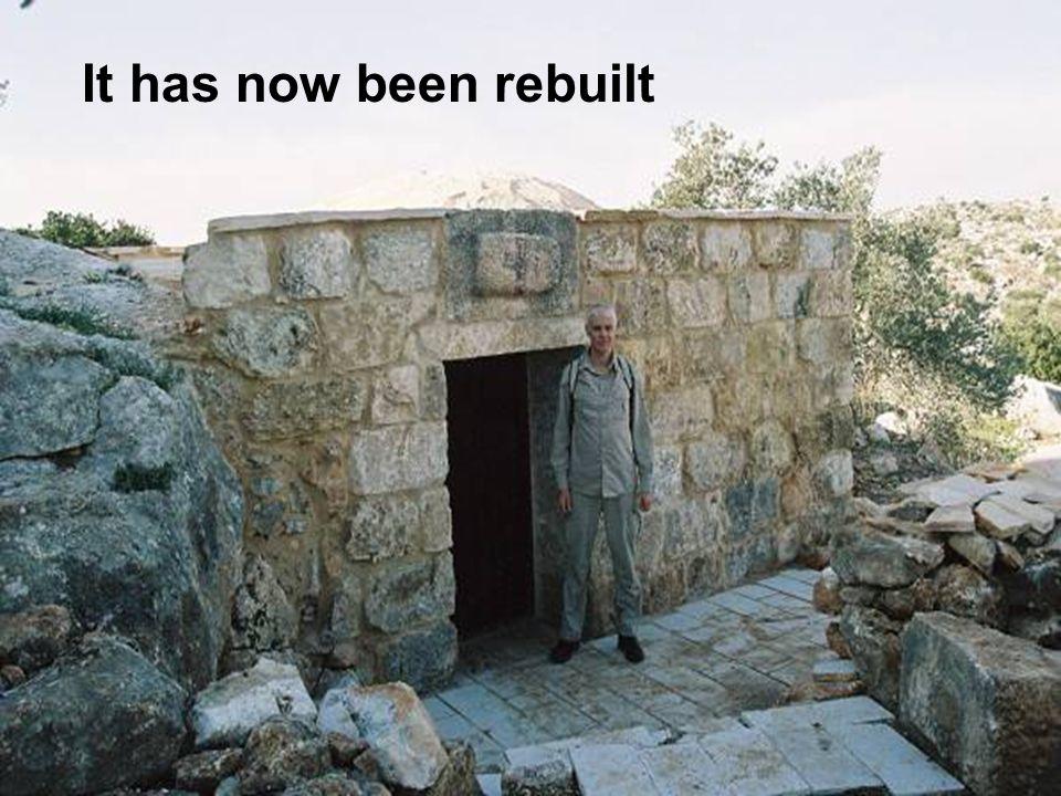 Aboudis viewing the destruction