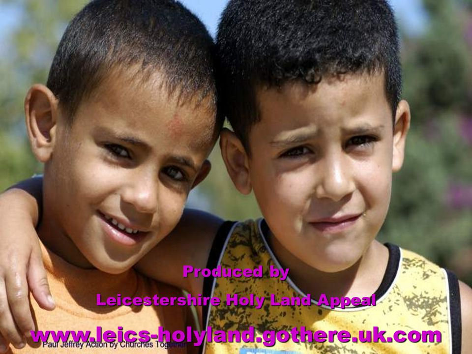 Help these Aboud children have a future of justice, peace and freedom