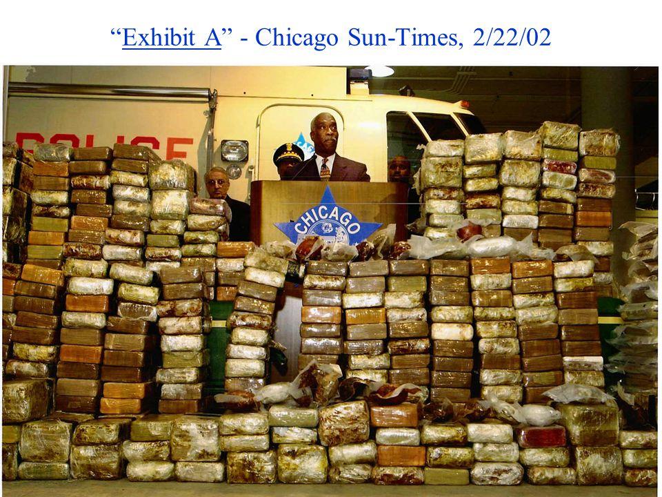 Exhibit A - Chicago Sun-Times, 2/22/02