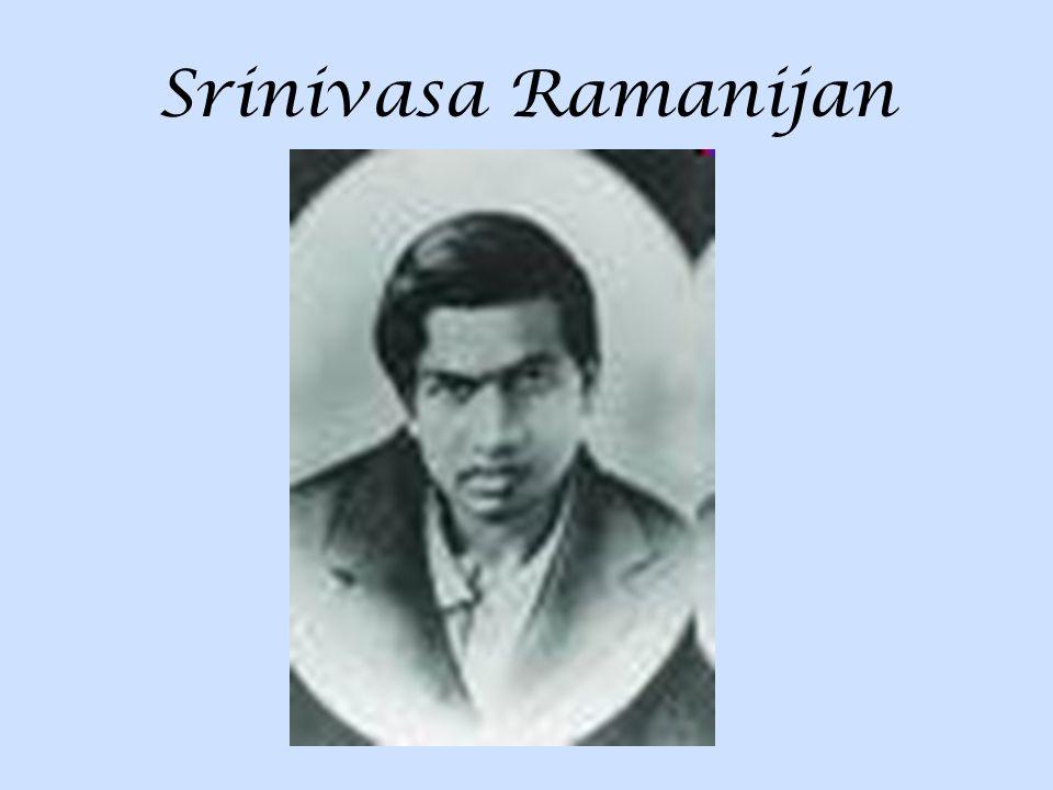 Srinivasa Ramanijan