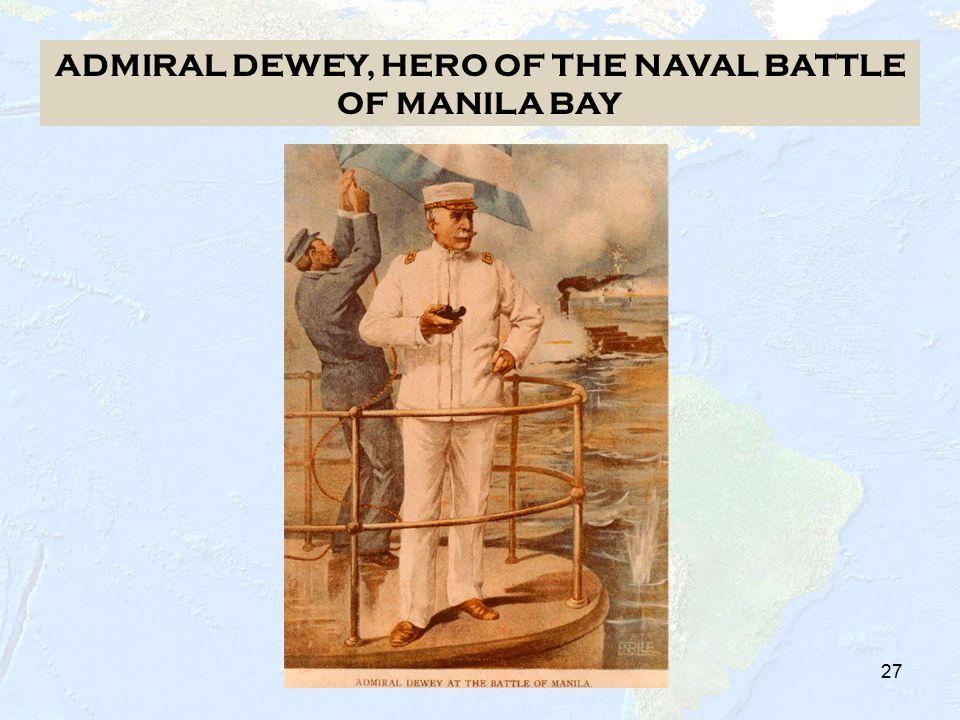 26 US DESTROYS THE SPANISH FLEET AT MANILA BAY