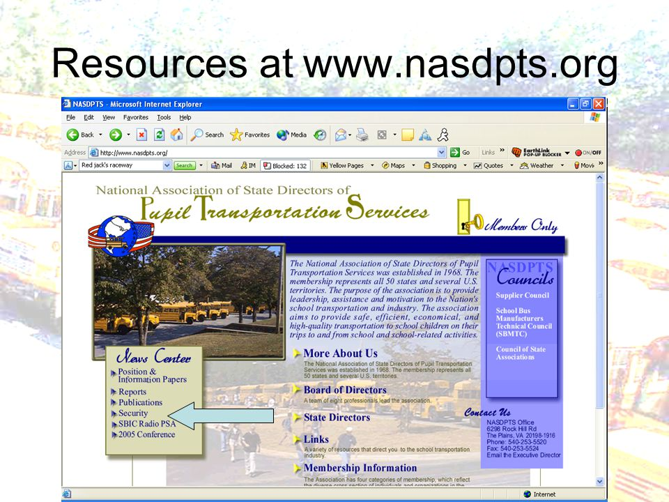 Resources at www.nasdpts.org