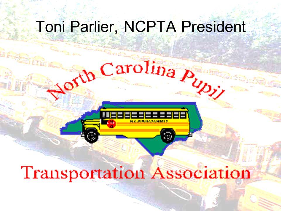 Toni Parlier, NCPTA President