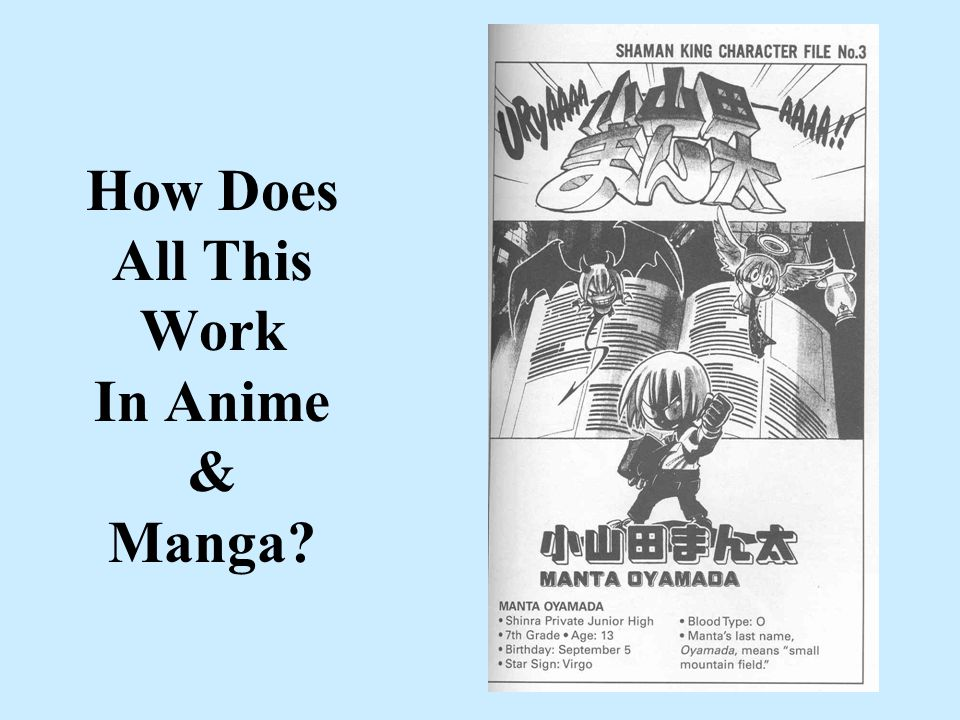 How Does All This Work In Anime & Manga?