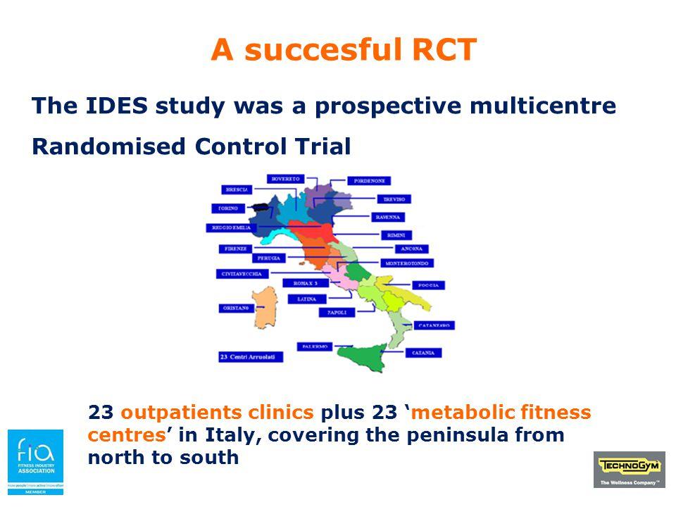 To execute the IDES Exercise intervention An educational program was conducted across the country aimed to: a)Increase the exercise literacy of the diabetologists b)Increase the diabetes literacy of the exercise professionals Effectiveness and Feasibility Results: a)Adherence was over 80%(of all prescribed exercise sessions) b) Drop out over a full year was 7%