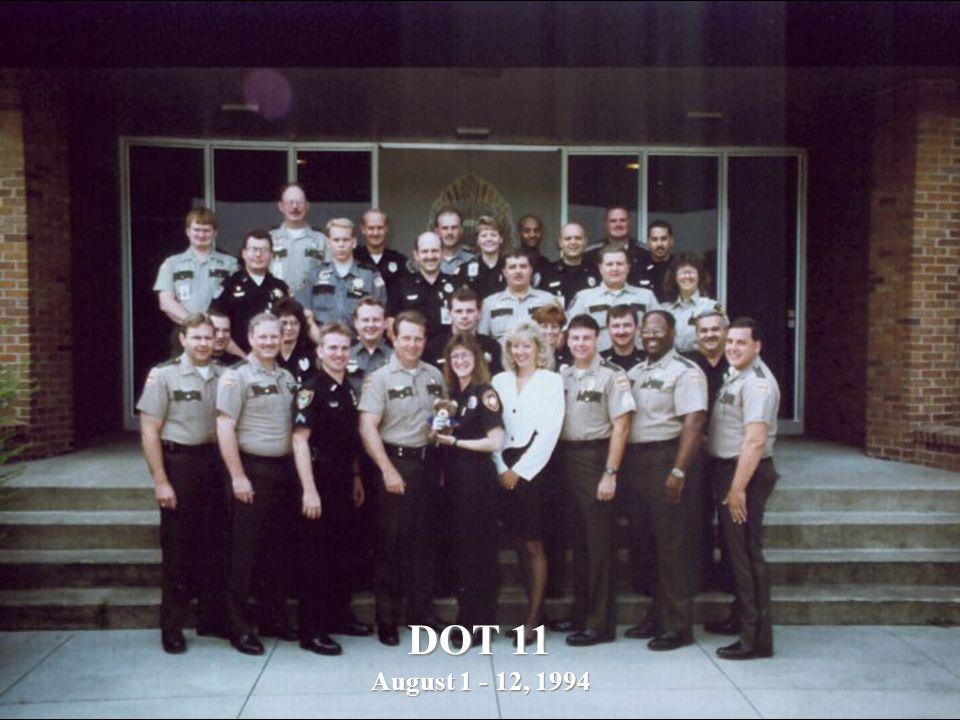DOT 11 August 1 - 12, 1994