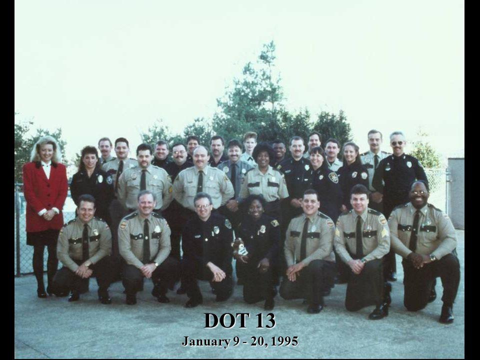 DOT 13 January 9 - 20, 1995