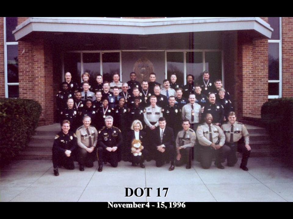 DOT 17 November 4 - 15, 1996