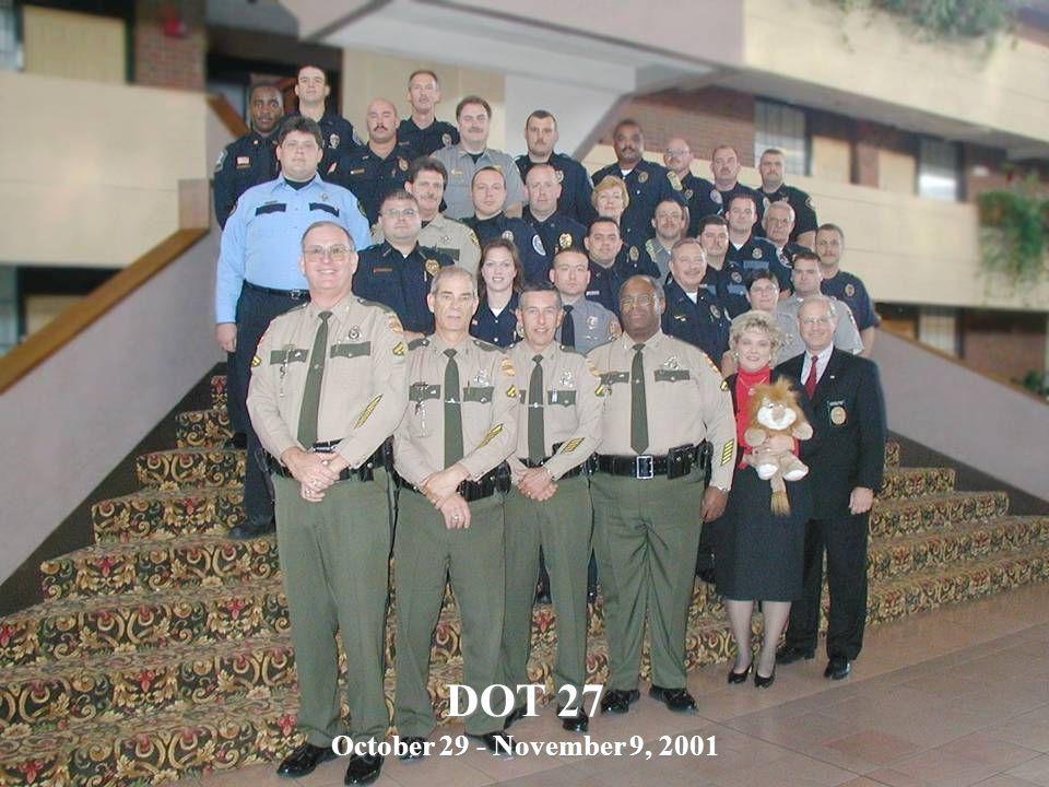 DOT 27 October 29 - November 9, 2001