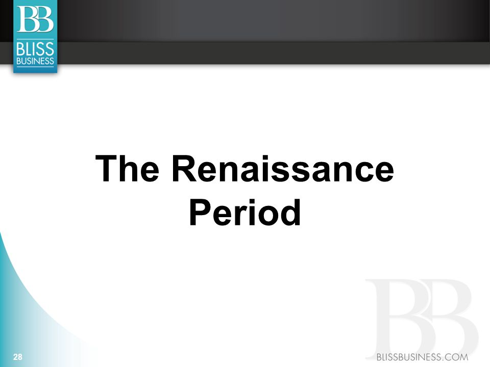 The Renaissance Period 28