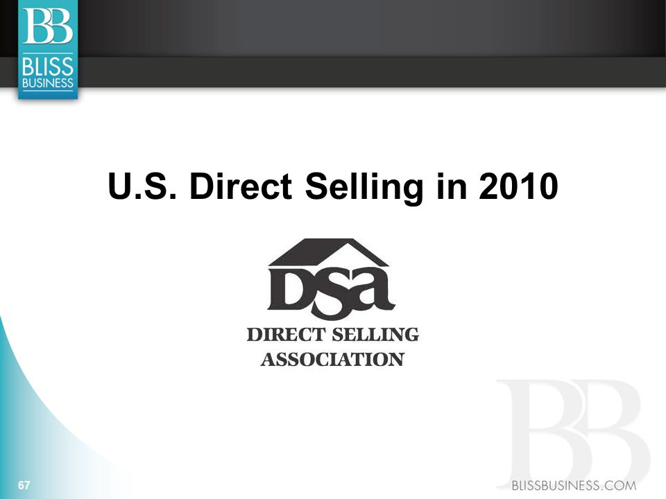 U.S. Direct Selling in 2010 67