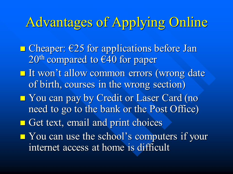 Offers and Acceptances Made one week after Leaving Cert results Made one week after Leaving Cert results Made by post and online Made by post and online You can get an offer from both lists (levels 6 &7 and Level 8) You can get an offer from both lists (levels 6 &7 and Level 8) You can only accept one You can only accept one Accept online or by post Accept online or by post No need to pay any money No need to pay any money Start looking for your accommodation.