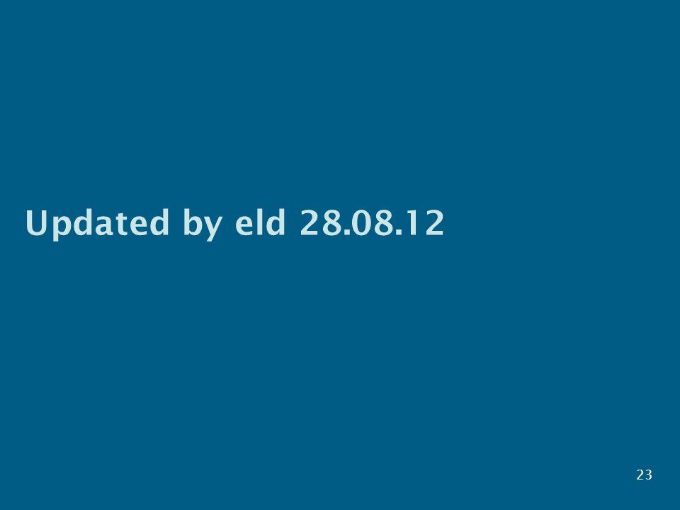 Updated by eld 28.08.12 23