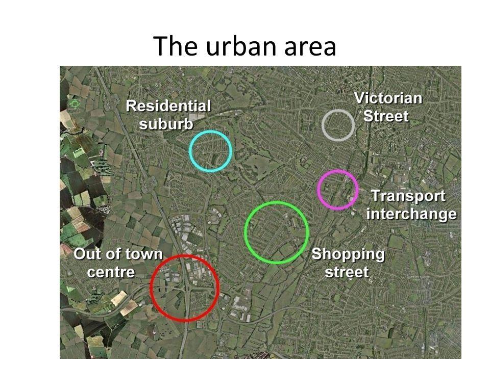 The urban area
