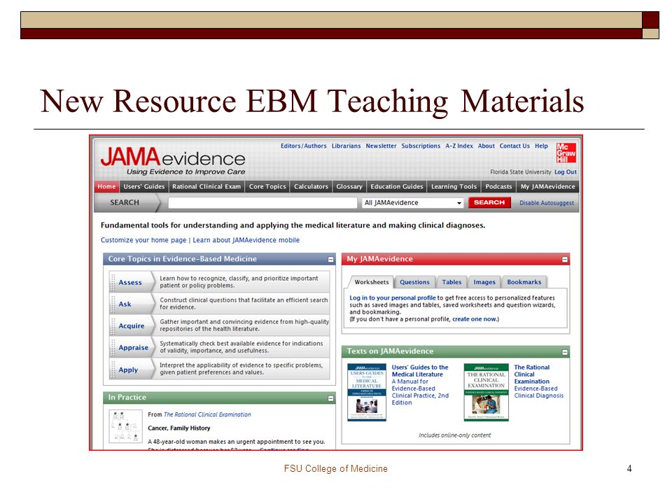 5 What is EBM.