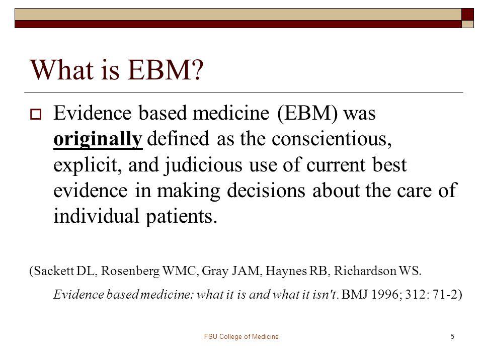 FSU College of Medicine16 Question Worksheet  P - Who.