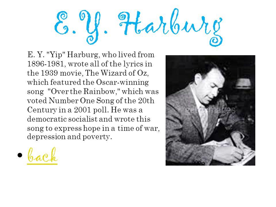 E.Y.Harburg E. Y.