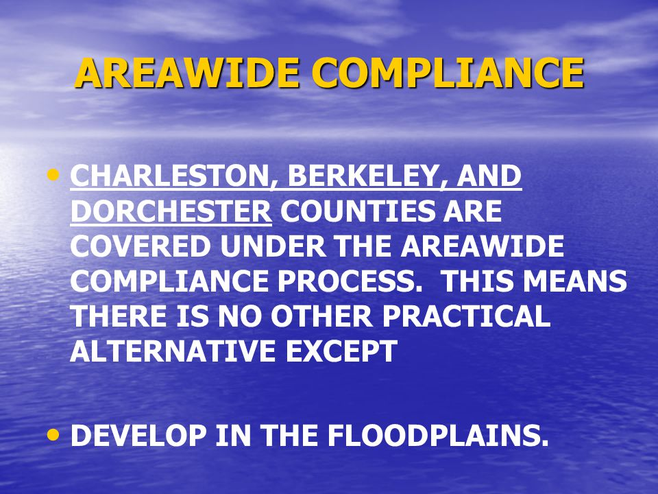15 HUD's Floodplain Management 24 CFR Part 55 Incidental to The site