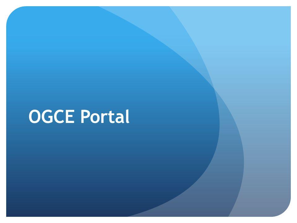 OGCE Portal