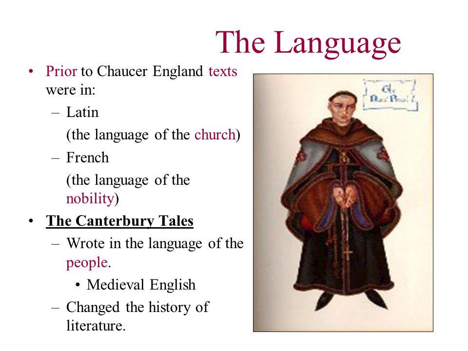 Late 14 th century world = spoken word.