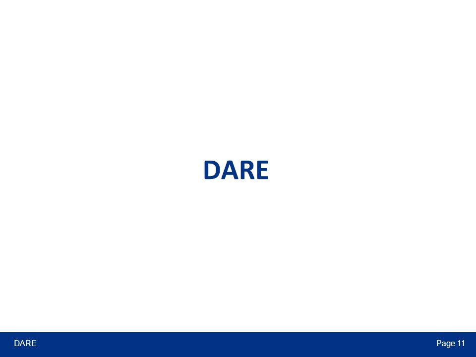DAREPage 11 DARE