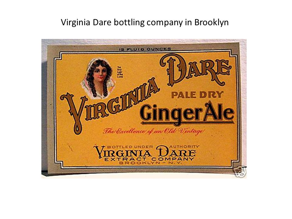 Virginia Dare bottling company in Brooklyn