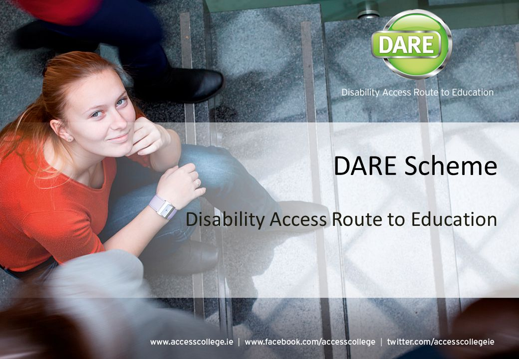 DARE Scheme Disability Access Route to Education