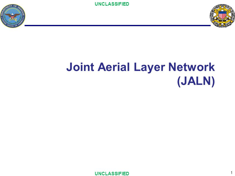 2 Purpose To provide the status of JALN efforts to the spectrum community and gain insights on spectrum considerations –OV-1 –Initial Capabilities Document –Analysis of Alternatives Recommendations –Ongoing efforts and governance –Way Ahead
