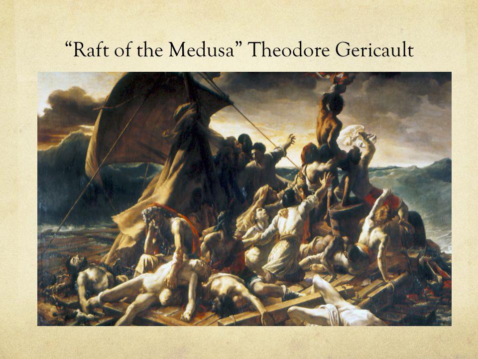 Raft of the Medusa Theodore Gericault