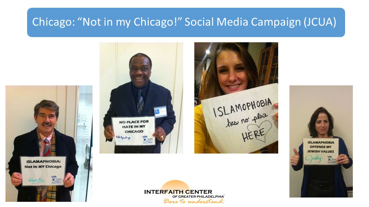 "Chicago: ""Not in my Chicago!"" Social Media Campaign (JCUA)"