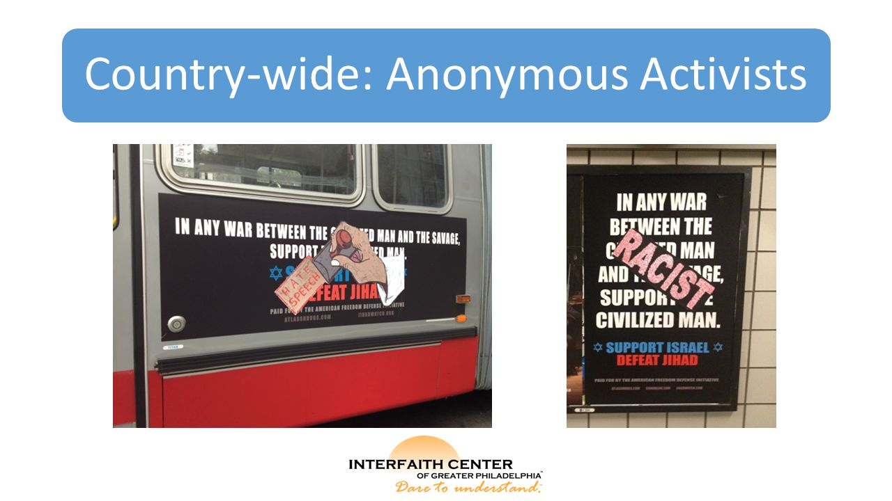Country-wide: Anonymous Activists