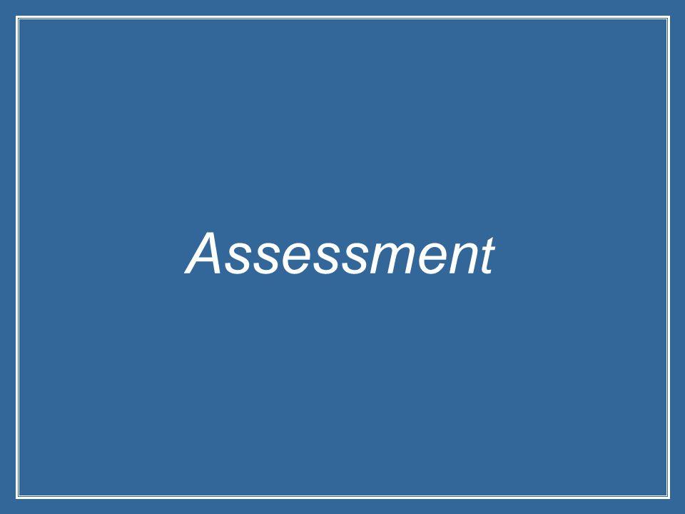 Assessmen t