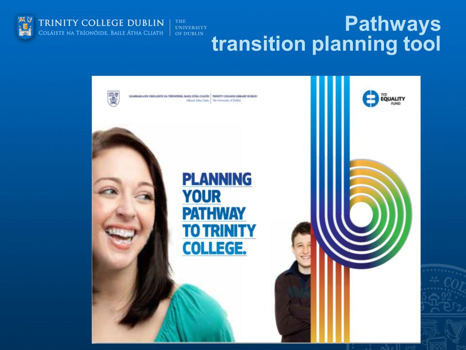 Pathways transition planning tool