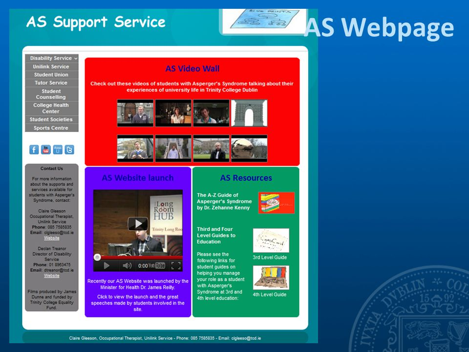 AS Webpage