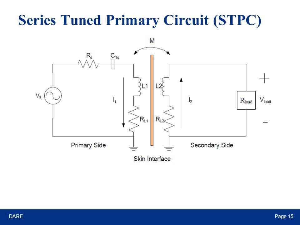 DAREPage 15 Series Tuned Primary Circuit (STPC)