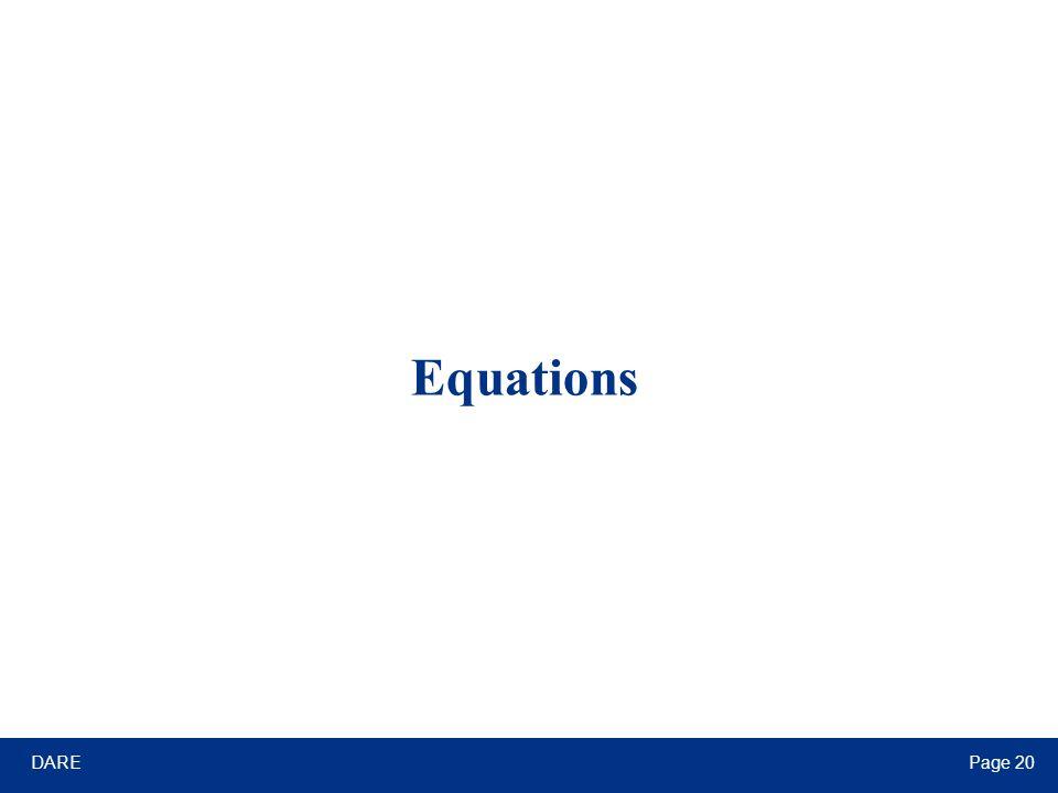 DAREPage 20 Equations
