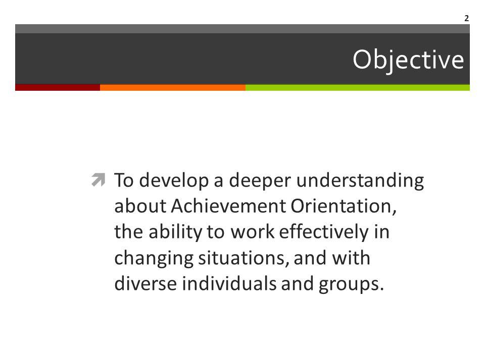 Agenda  Competencies  Achievement  Change Management  Focus  My next steps 3