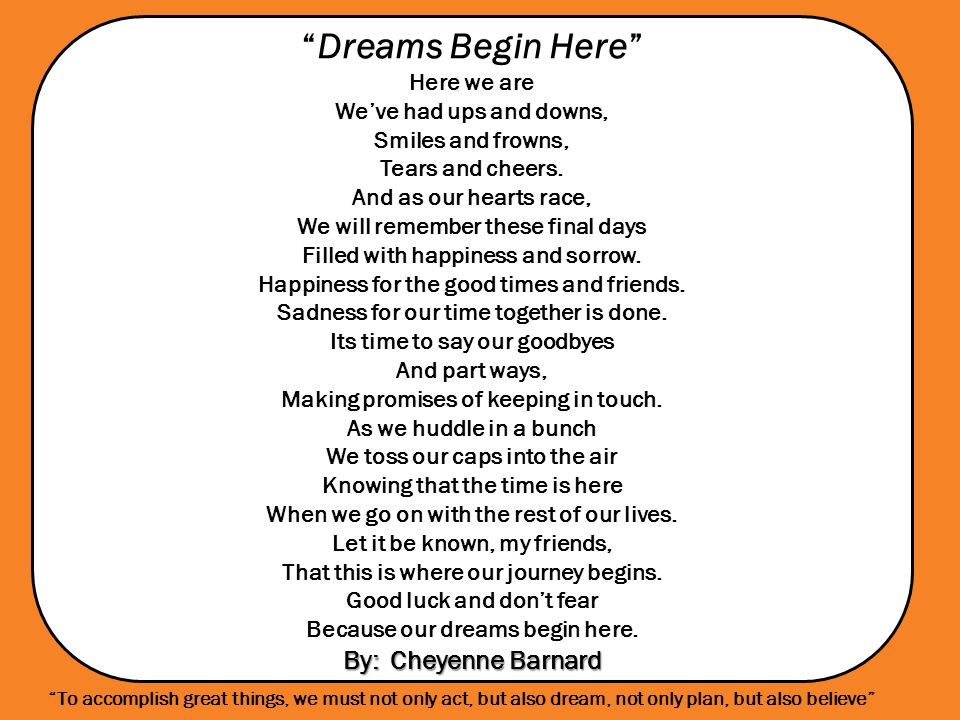 Until We Sing Again By: Greg Gilpin Sebring McKinley High School Choir Until We Sing Again By: Greg Gilpin Sebring McKinley High School Choir To accomplish great things, we must not only act, but also dream, not only plan, but also believe