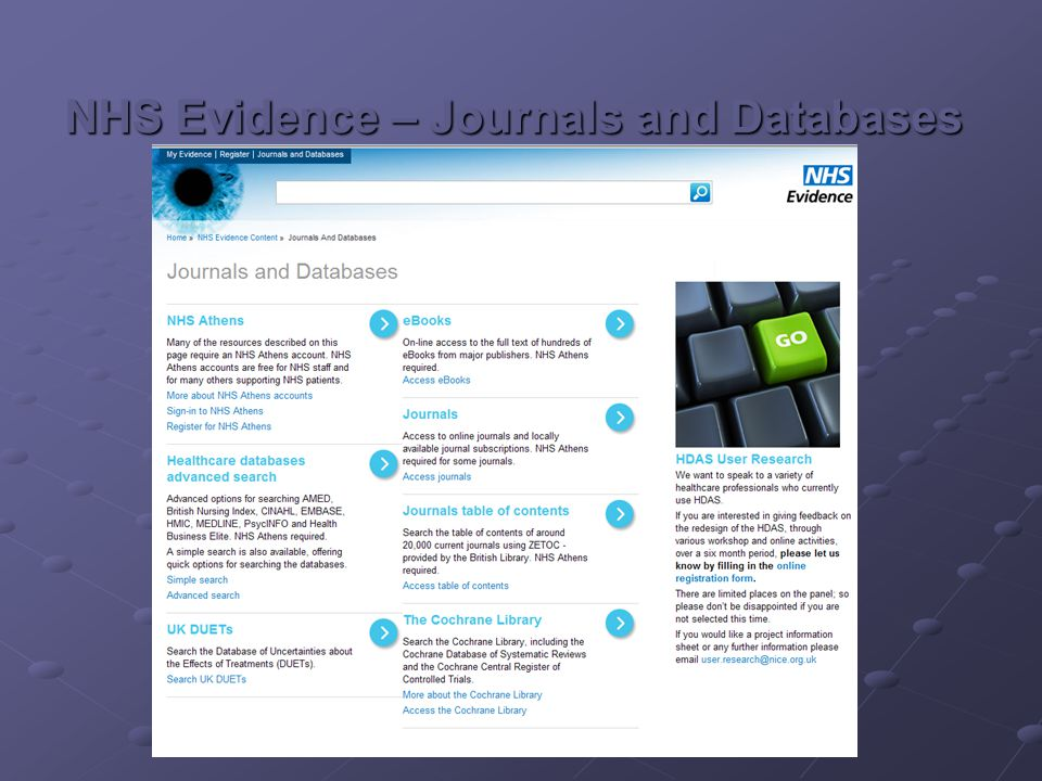 Department of Health www.dh.gov.uk Difficult to navigate Lots of archived documents – your 1 st hits may not be the most up to date Put in the year – sometimes helps Use Google add www.dh.gov.uk to your search Hosts Immunisation against Infectious Disease ('The Green Book ')