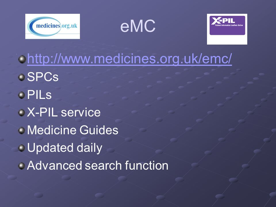 NHS Evidence https://www.evidence.nhs.uk/ Primary portal to evidence based medicine Information from range of bodies….