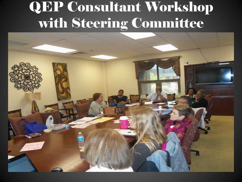 QEP Consultant Workshop