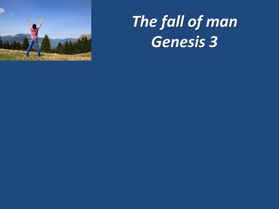 The fall of man Genesis 3